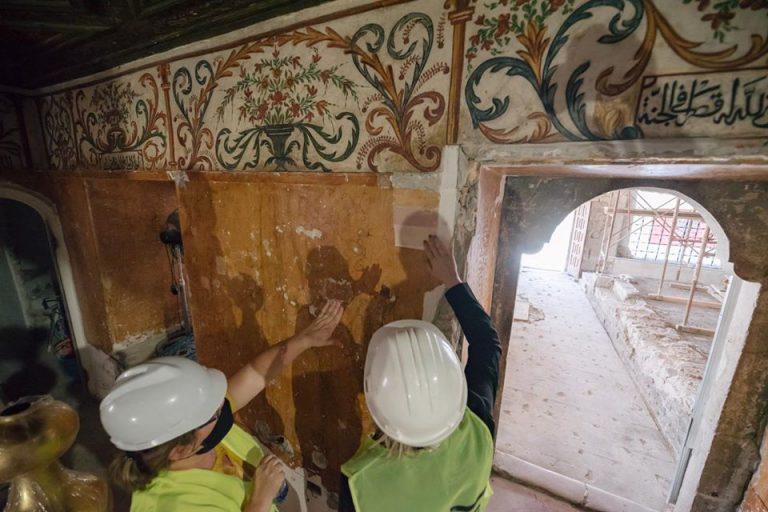 Restoration of the frescoes is completed / Very soon, the mosque of Haji Et'hem Bey will be returned to the believers and visitors 3