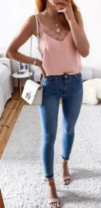 20 ideas on how to combine jeans in summer! 4