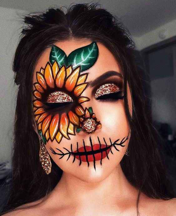 Halloween is approaching / 9 ideas for the right make-up 3