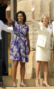The style of Jill Biden, US First Lady through clothing 2