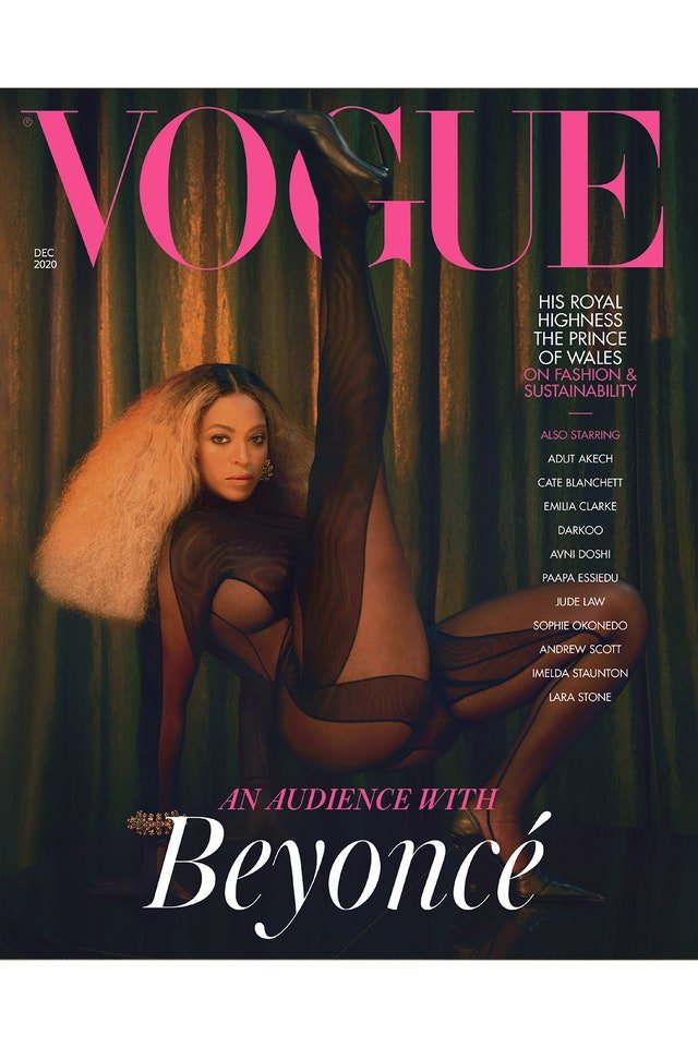 & #039; & #039; People enjoy life & #039; & #039; - Beyonce stuns on new cover of & #039; & #039; Vogue & #039; & #039; 4