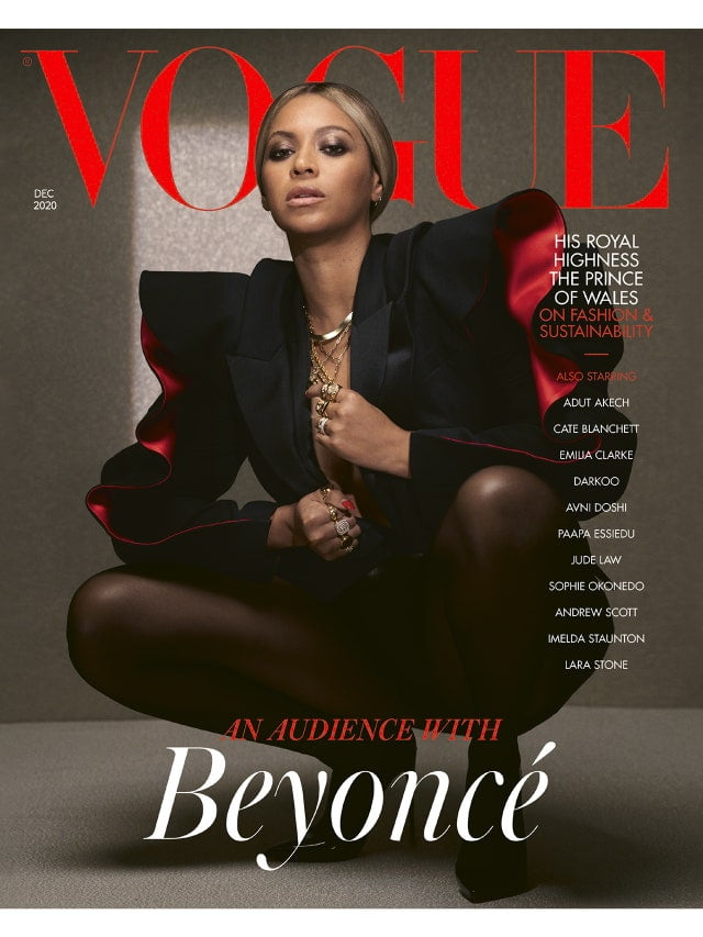 & #039; & #039; People enjoy life & #039; & #039; - Beyonce stuns on new cover of & #039; & #039; Vogue & #039; & #039; 1