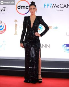"The most beautiful costumes at ""Cairo Film Festival 2020"" 1"