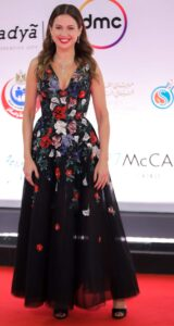 "The most beautiful costumes at the ""Cairo Film Festival 2020"" 2"