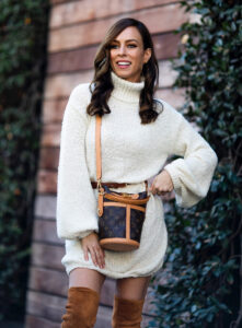 Sweater dresses / 10 combination ideas for the most comfortable outfit of season 3