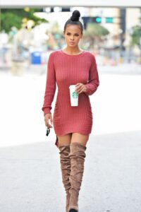 Sweater dresses / 10 combination ideas for the most comfortable outfit of season 6