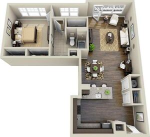 Life in 70 square meters. 6 ideas on how to design your home 3
