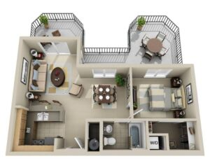 Life in 70 square meters. 6 ideas on how to design your home 4