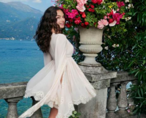 In the footsteps of her mother, Monica Bellucci's daughter, the face of the Dolce & Gabbana campaign 1