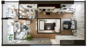 Life in 70 square meters. 6 ideas how to design your home 2