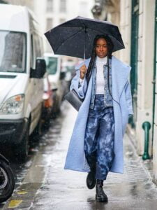 9 ideas how to dress in rainy weather 8