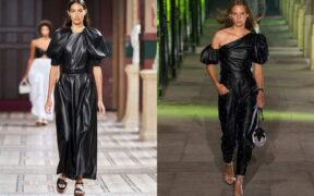 Leather clothing, here's how to combine the current trend 5